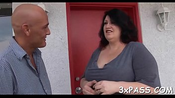 guy and fattie are having wonderful oral pleasure.