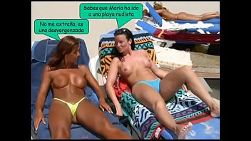 bikinis en la playa