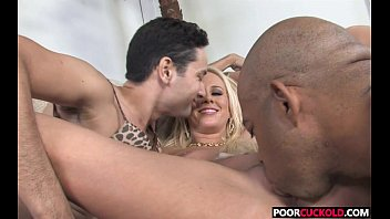poor cuckold watching carla cox fucking with a.