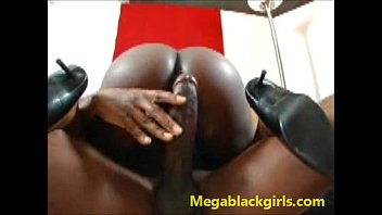 delotta black babe got hot cum on her face