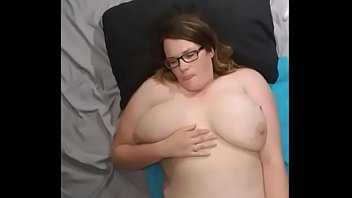 chubby couple humping on cam
