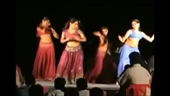 andhra gals stage dance