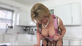 mature lingerie slut poses and takes.