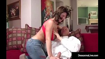 naughty wife deauxma gets free advice for sex.