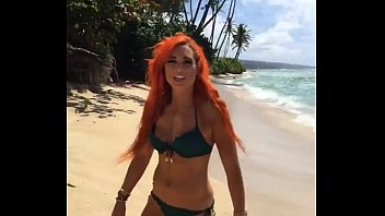 wwe&#039_s becky lynch sexy bikini photoshoot.