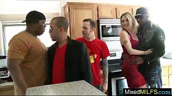 hard mixt sex tape with monster black cock.
