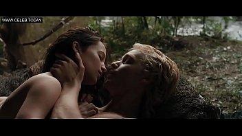 alicia vikander - public nudity, naked swimming -.