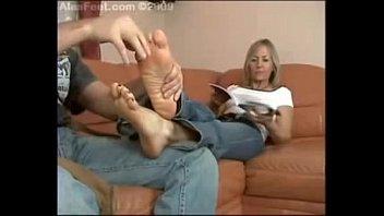 mature teacher gets feet licking 2