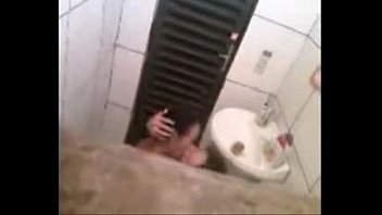 spying my lesbian sister in bathroom with girlfriend..