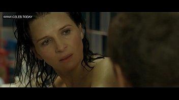 juliette binoche - naked, topless sexy scenes -.