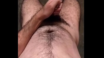 hairy man hard dick cumming