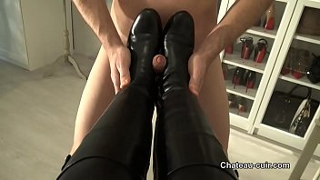 leather boots fucked and cum in.