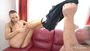 sexy babe fucks with an older.