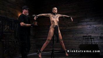 trimmed head alt slave gets bondage