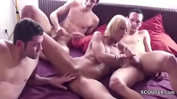 german mom seduce to fuck by step-son and.