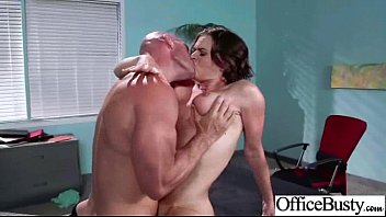 (krissy lynn) slut busty girl in hard sex.