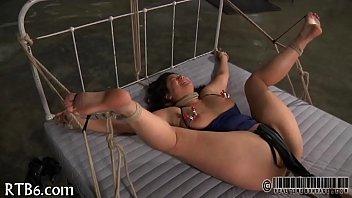 girl enjoys cruel satisfying