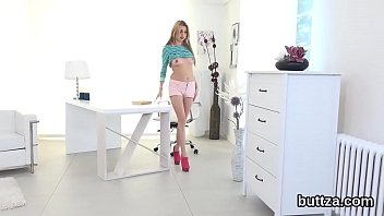 charming petite teen gets her wet snatch and.