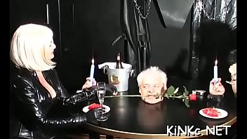 mistress gets fake cock sucked