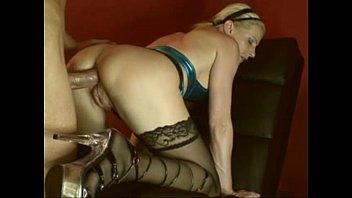 mature blonde german riding cock