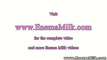 enema dyke lesbians love milk enemas