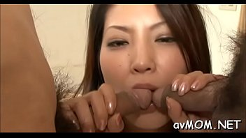 long hairy oriental deepthroat act