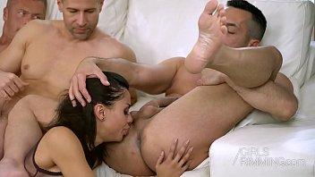 colombian pornstar canela skin ass licking 3 guys.