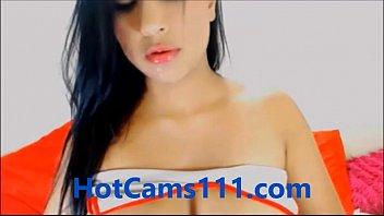 sexy spanish cam girl teasing