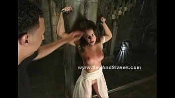 boobs spanked and abused in bondage.