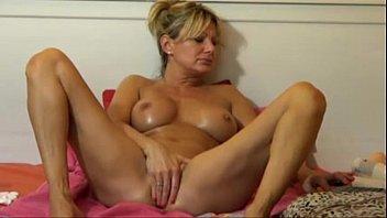 hot blonde milf webcam show -.