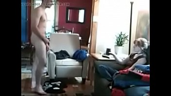 guy strips and jerks for female.