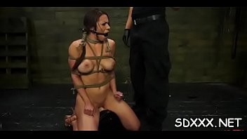 blindfolded latin chick s&amp_m scene