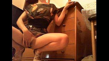 www.porncinema.biz - this hot woman masturbates on cam.