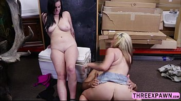 hot busty lesbian couple game for a cock.