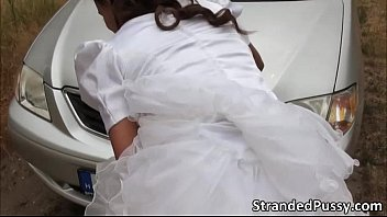 gorgeous rejected bride amirah adara gets her pussy.