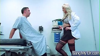 sex tape with sexy doctor and hot patient.