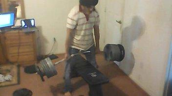 280 lbs  50 lbs bar 345 lbs.
