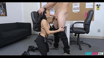 security girl finds a cock to.