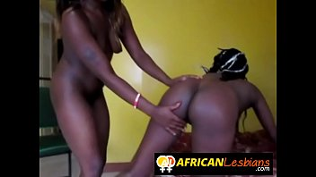 smoking hot ebony babes dominating lesbian.