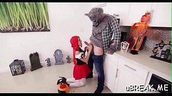 charming honey blows big cock