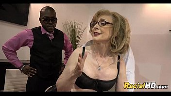 mature lady gets black cocks after.