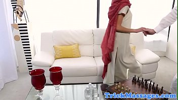 arab beauty fucked on the massage.