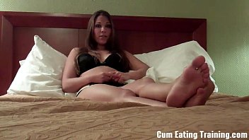 you&#039_re going to love eating your own cum cei