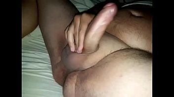 naked dutch guy masturbating shaved dick.