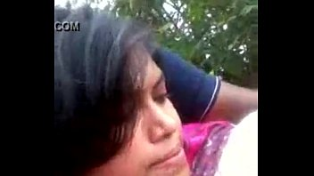 bangladeshi girl boob pressed at park by boyfriend.