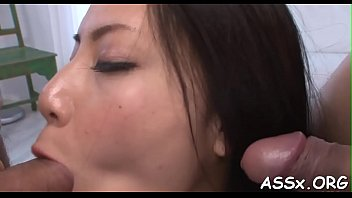enthralling asian group-sex