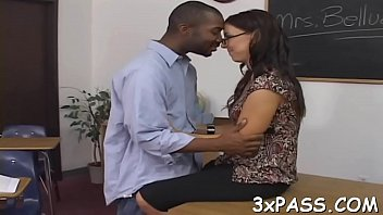 black guy fucks white gal