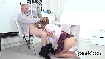 kissable college girl is teased and fucked by.