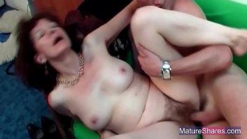 mature redhead fucked hard