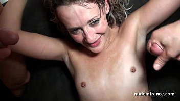 squirt french blonde hard analized double penetrated and.